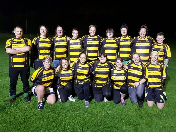 Ladies Rugby Team in Kent